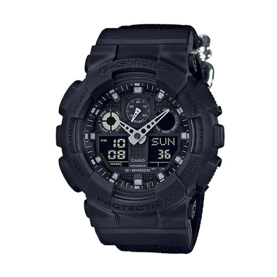 G-Shock นาฬิกาข้อมือ Analog-Digital รุ่น GA-100BBN-1ADR