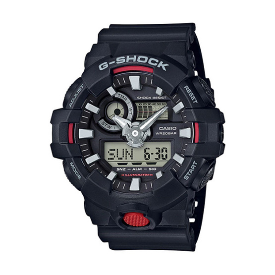 G-Shock นาฬิกาข้อมือ Analog-Digital รุ่น GA-700-1ADR