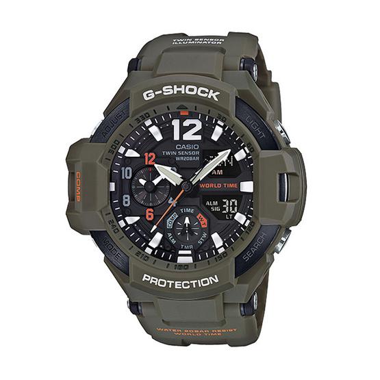 G-Shock นาฬิกาข้อมือ Gravitymaster รุ่น GA-1100KH-3ADR