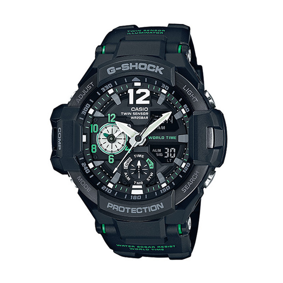 G-Shock นาฬิกาข้อมือ Gravitymaster รุ่น GA-1100-1A3DR