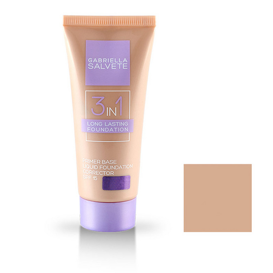 Gabriella Salvete 3 in 1 Primer Base Liquid Foundation Corrector 30ml.