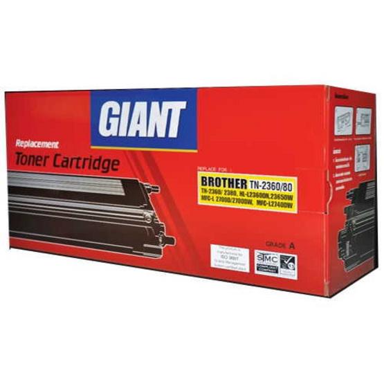 Giant ตลับหมึกเลเซอร์ Toner Brother TN2360/2380