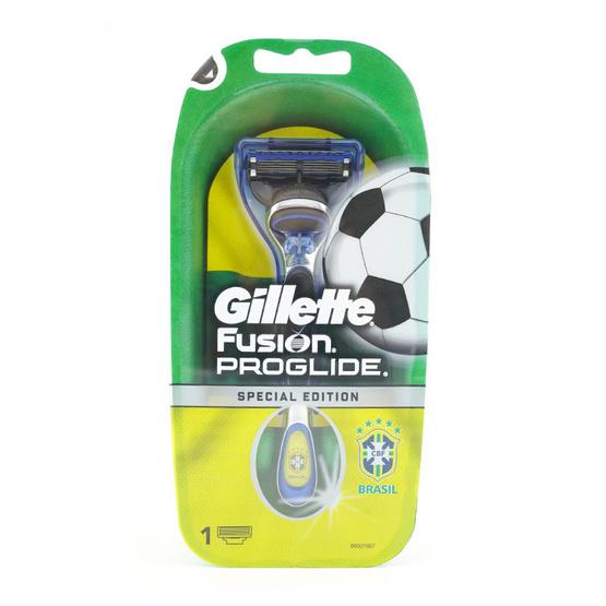 ส่งฟรี !! Gilette Fusion Proglide Brazil Special Edition 1pc - Gillette, ผลิตภัณฑ์ความงาม