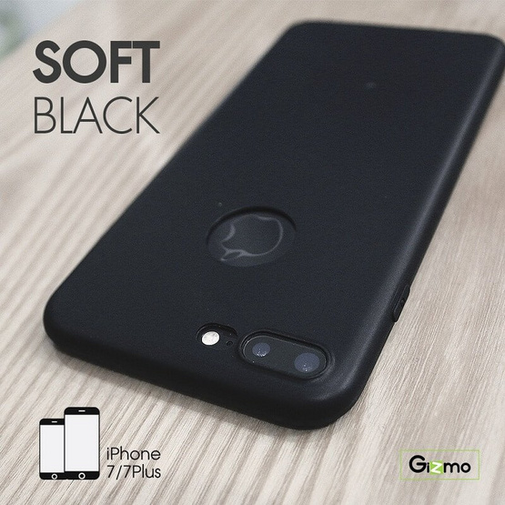 Gizmo Case iPhone 7 Plus Soft Black