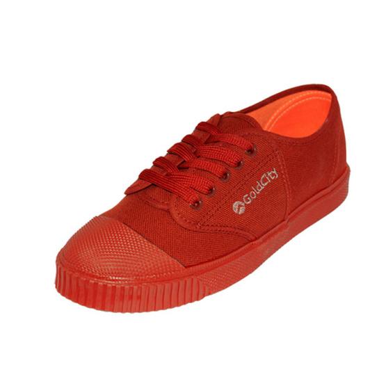 Gold City รองเท้านักเรียน รุ่น Classic Rock 205s สีน้ำตาล