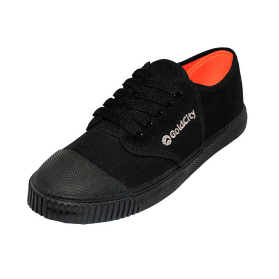 Gold City รองเท้านักเรียน รุ่น Classic Rock 205s สีดำ