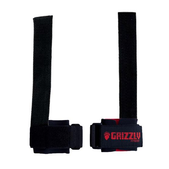 Grizzly Fitness DELUXE COTTON LIFTING STRAPS สายรัดข้อมือผ้าฝ้ายชั้นดี