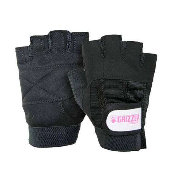 Grizzly Fitness WOMEN SPORT & FITNESS ถุงมือหนัง size M