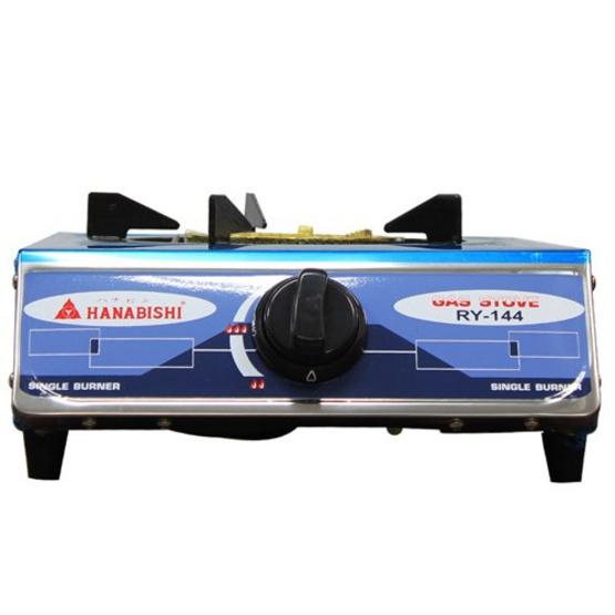 HANABISHI เตาแก๊สหัวเดี่ยว หน้าเตาสแตนเลส RY-144