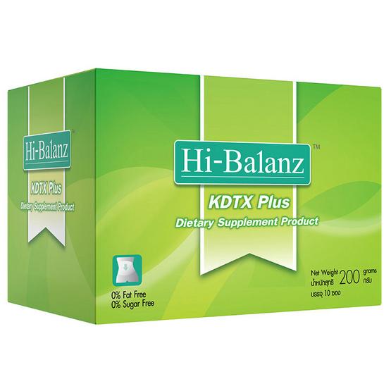 Hi-Balanz KDTX Plus 10 Sachets เคดีที เอ็กซ์ 1 กล่อง บรรจุ 10 ซอง