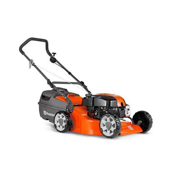 ซื้อ Husqvarna รถตัดหญ้าแบบเข็น รุ่น LC19 ตัวถังเหล็ก
