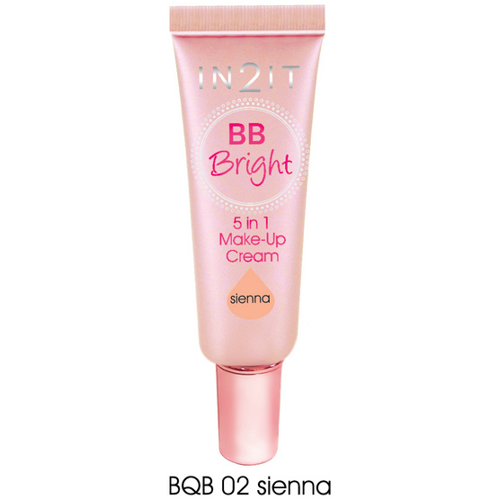 IN2IT BB Bright Make-Up Cream20ml.#BQB02Sienna
