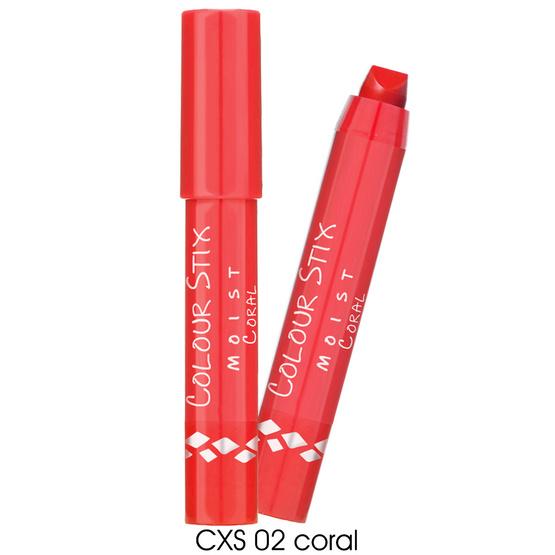 IN2IT Colour Stix Moist Lipstick 2.6g.#CXS02 Coral