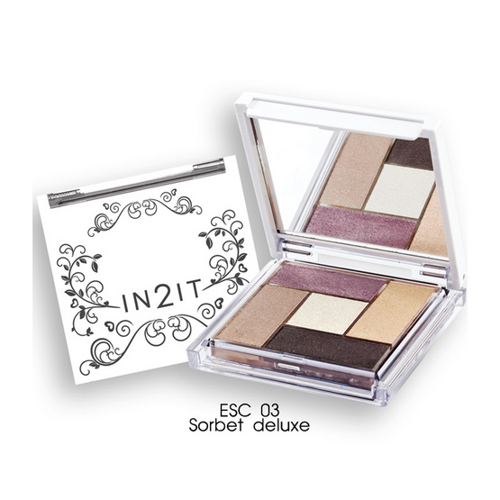 IN2IT Eye Color Palette 4.5g #ESC03 Sorbet deluxe