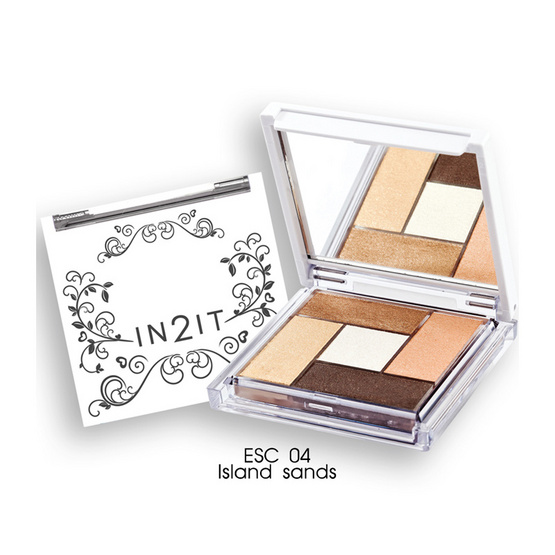 IN2IT Eye Color Palette 4.5g #ESC04 Island sands