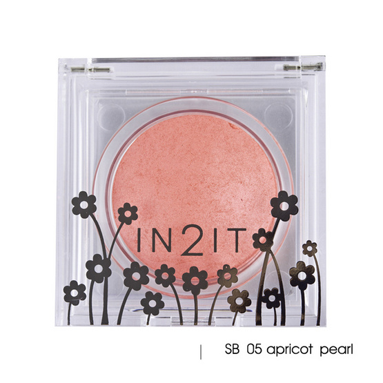 IN2IT Sheer Shimmer Blush 4g #SB05 Apricot pearl