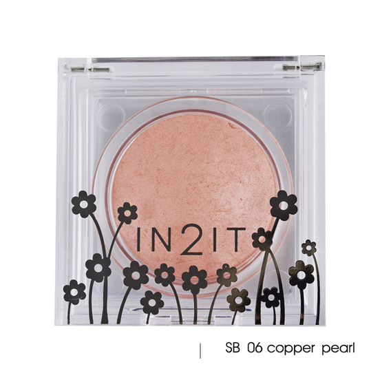 IN2IT Sheer Shimmer Blush 4g #SB06 Copper pearl