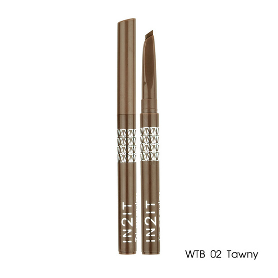 IN2IT Tri-Angular Eyebrow Liner 3.5g #WTB02 Tawny