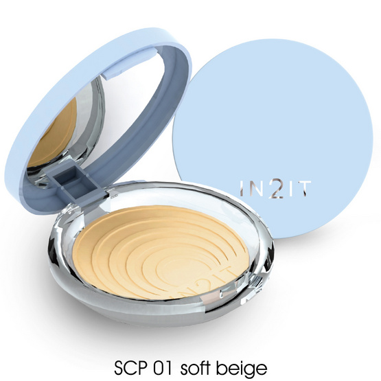 IN2IT UV Shine control SPF15 PA++  9g. #SCP01 Soft Beige