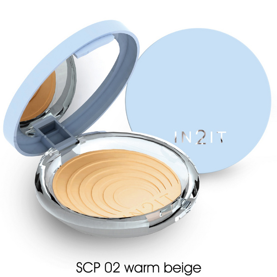 IN2IT UV Shine control SPF15 PA++  9g. #SCP02 Warm Beige