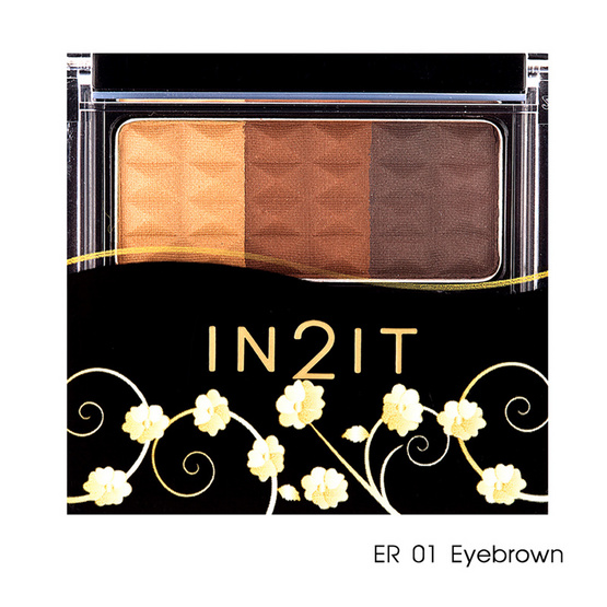 IN2IT Waterproof Eyebrow Color 3.5g #ER01 Eyebrown
