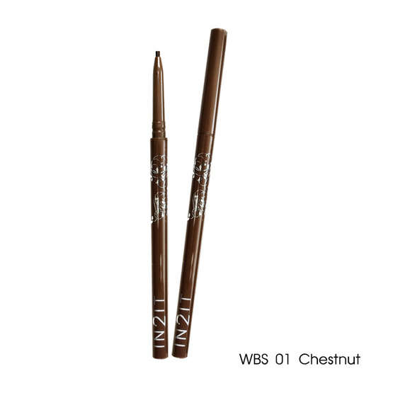 IN2IT Waterproof Eyebrow Liner 9g #WBS01 Chestnut