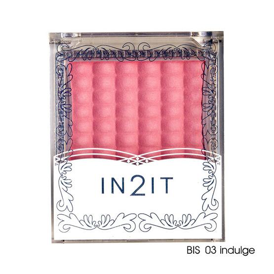 IN2IT Waterproof Single Blush 3g #BIS03 Indulge
