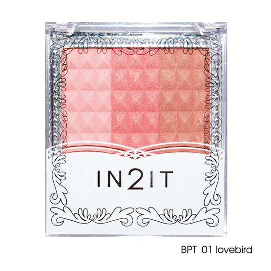 IN2IT Waterproof Triple Blush 8g #BPT01 Lovebird
