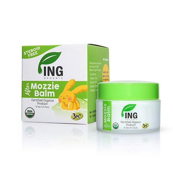 ING ORGANIC อาฟเตอร์ มอซซี่ ไบท์ บาล์ม 15 ml (บาล์มทาหลังยุงกัด)
