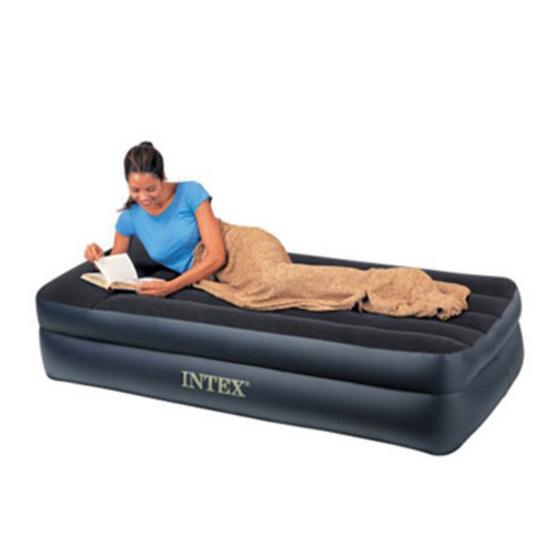 Intex ที่นอนเป่าลมไฟฟ้า พิลโล่เรสท์-ทวิน