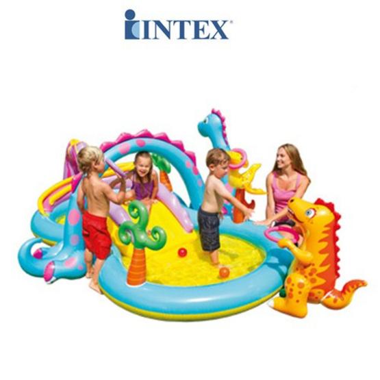 Intex สวนน้ำเป่าลมหรรษา Dinoland รุ่น 57135