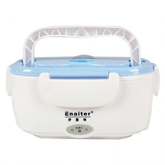 JOWSUA Electric Lunch Box กล่องอุ่นอาหารไฟฟ้า แบบพกพา สีฟ้า