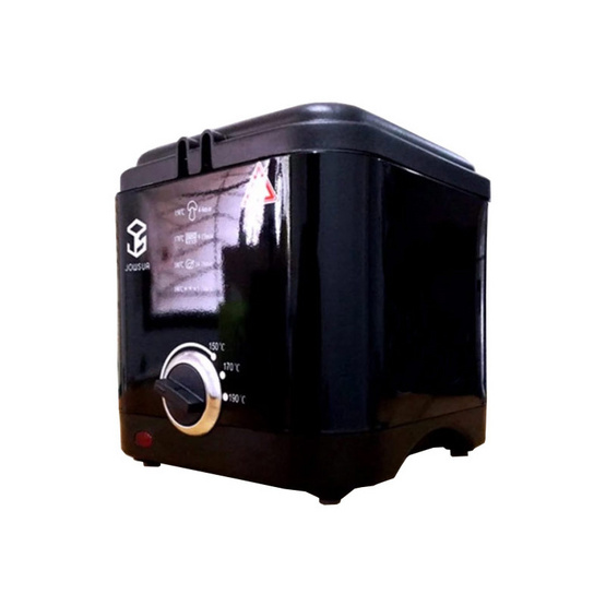 JOWSUA หม้อทอดไฟฟ้า Electricity fryer รุ่น GY-601 สีดำ