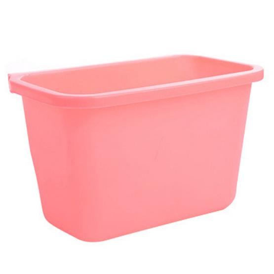 JOWSUA ถังขยะ Trash Can สีชมพู