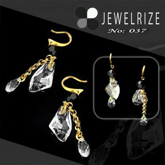 Jewelrize ต่างหู Galaxy size 7 Cm Cst size 2 Cm