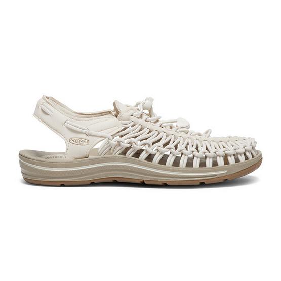 KEEN รองเท้าผู้หญิง W-UNEEK WHITECAP/CORNSTALK