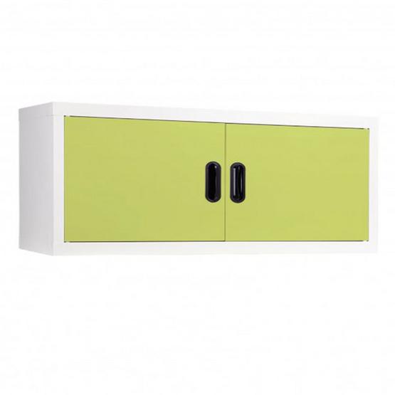 KIOSK-MAX-011 ตู้แขวนวางหนังสือบานเปิด รุ่น Maxbook สี GR-Green