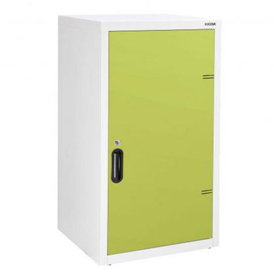 KIOSK-UDB-1 ตู้บานเปิดทึบ 2 ชั้น รุ่น Uni-box สี GR-Green