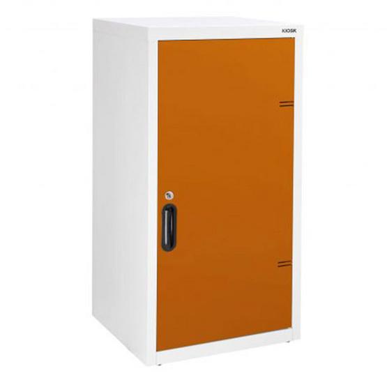 KIOSK-UDB-1 ตู้บานเปิดทึบ 2 ชั้น รุ่น Uni-box สี OR-Orange