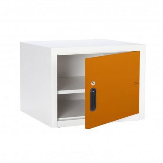 KIOSK-UNI-1 ตู้บานเปิดทึบเล็ก รุ่น Uni-box สี OR-Orange