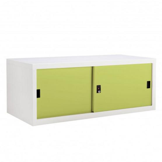 KIOSK-USB-1 ตู้บานเลื่อนทึบเตี้ย รุ่น Uni-box สี GR-Green