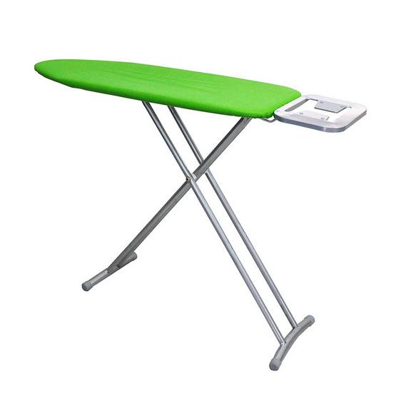Kantareeya โต๊ะรีดผ้า 10 ระดับ ขา T คู่ สีเขียว