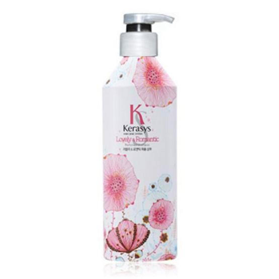 พร้อมส่ง !! KeraSys Lovely&Romantic Perfumed Rinse 600 ml. (ครีมนวดผม) - Kerasys, ผลิตภัณฑ์ความงาม