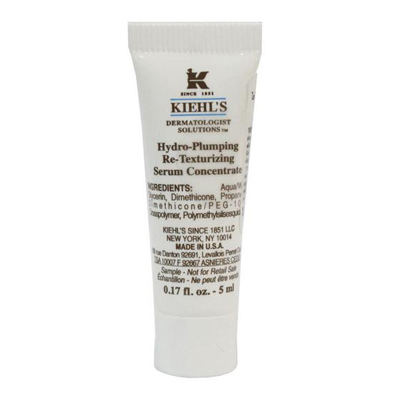 ดีไหม !! Kiehls Hydro Plumping Re Texturzing Serum Concentrate 5ml - Kiehl's, ผลิตภัณฑ์ความงาม