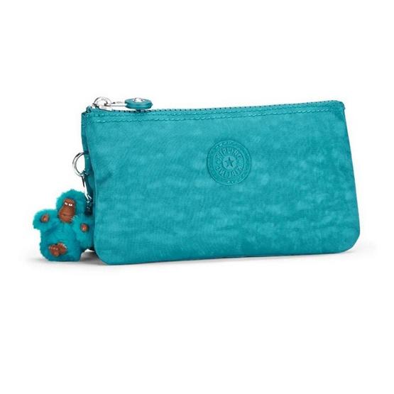 Kipling กระเป๋าอเนกประสงค์ Creativity L #Turquoise Dream