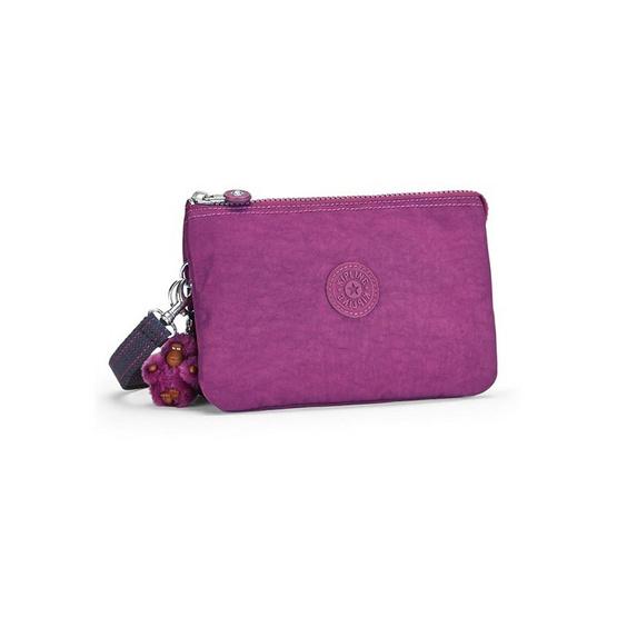 Kipling กระเป๋าคล้องมือ Creativity XL #Urban Pink C