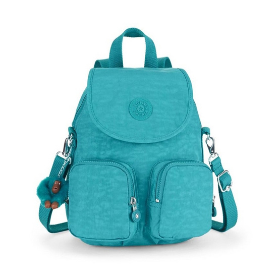 Kipling กระเป๋าเป้ Firefly UP #Turquoise Dream