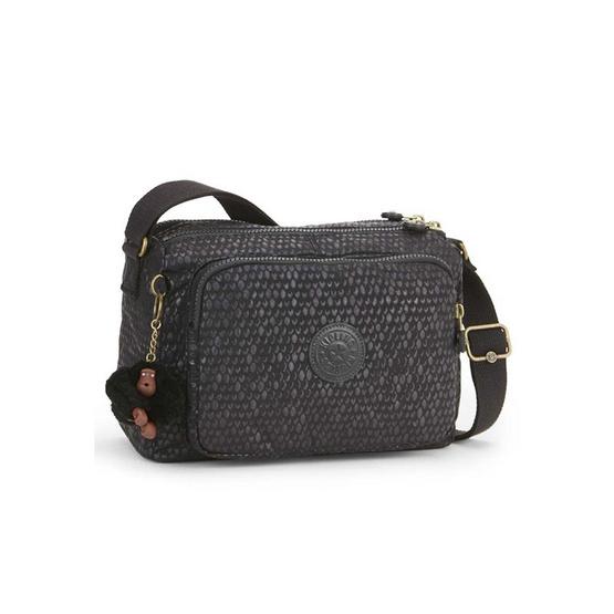 Kipling กระเป๋าสะพาย Reth #Black Scale Emb