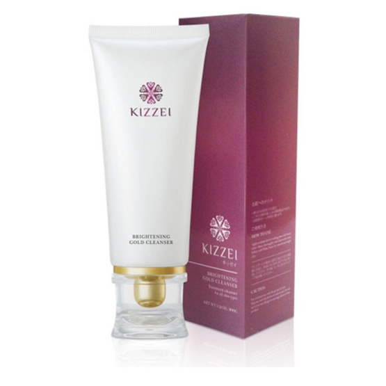 Kizzei Brightening Gold Cleanse 100g.