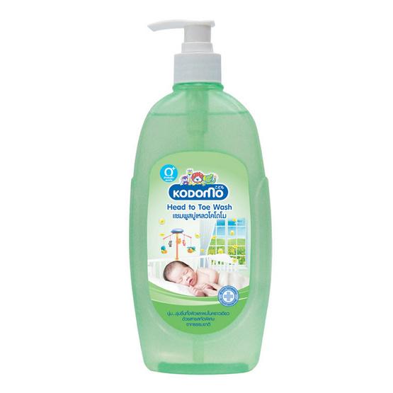 Kodomo แชมพูสบู่เหลว Head to Toe (Baby Bath & Shampoo) 400 ml แพ็ค 2
